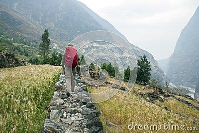 Hiking in the Farmlands