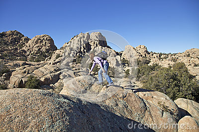 Hiking the Granite Dells