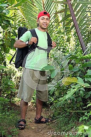 Free Hiking Man Stock Photography - 5527702
