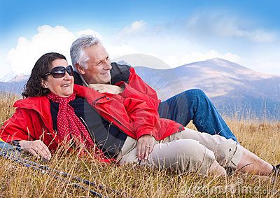 Hiking seniors 14