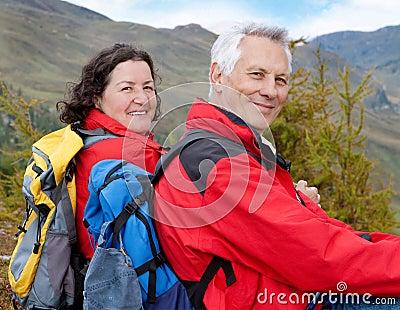 Hiking seniors 3