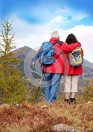 Hiking seniors 5
