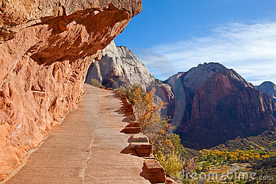 Hiking Trail in Zion