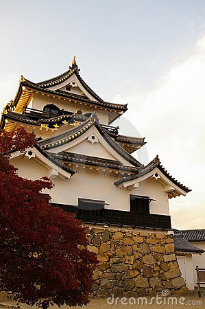 Hikone Castle - Front from left