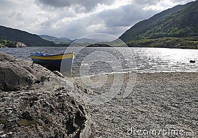 Hill Irish landscape