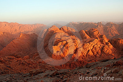 Hill of Moses (Gebel Musa)