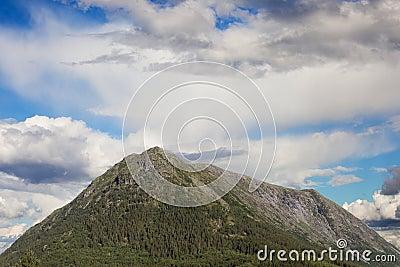 Hill top , Scandinavia.