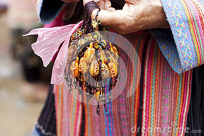 Hill tribal souvenir Editorial Stock Photo