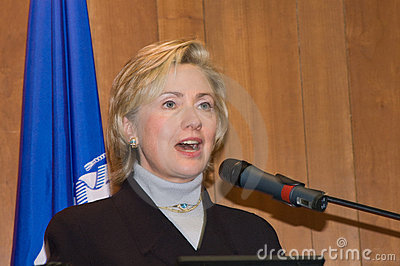 Hillary Clinton Editorial Stock Image