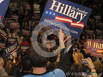 Hillary Clinton s presidential campaign rally at Bowie State University 2008