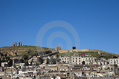 Hills over Fes in Marocco