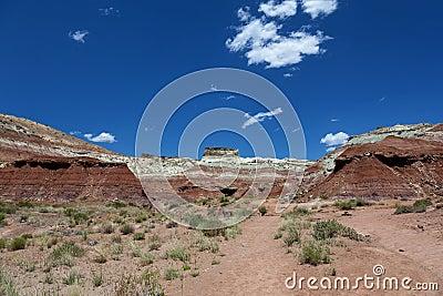 Hills in Utah desert