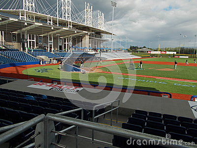 Hillsbro ballpark Editorial Stock Photo