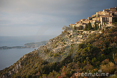 Hilltop village of Eze, France