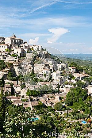 Hilltop village Gordes