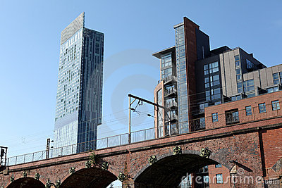 Hilton Beetham Tower manchester Editorial Stock Photo
