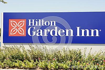 Hilton Garden Inn, Memphis, TN Editorial Stock Photo