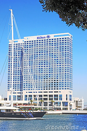 Hilton San Diego Bayfront Editorial Stock Image