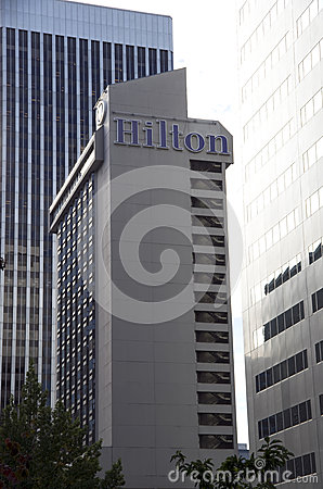 Hilton Seattle hotel Editorial Image