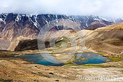 Himalajów jezior halna spiti dolina
