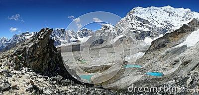 Himalaya Mountains Landscape Nepal