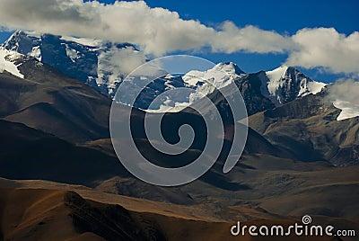 Himalaya mountain peaks