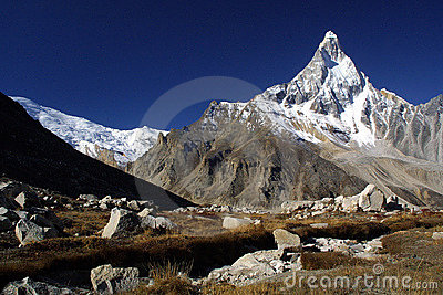 The Himalaya Mountains, Shivling