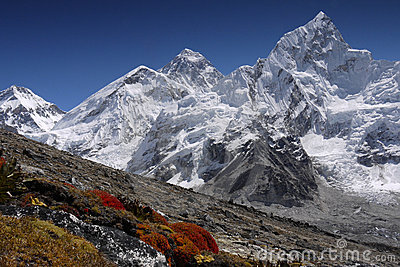 Himalaya Mountains Landscape Nepal Everest