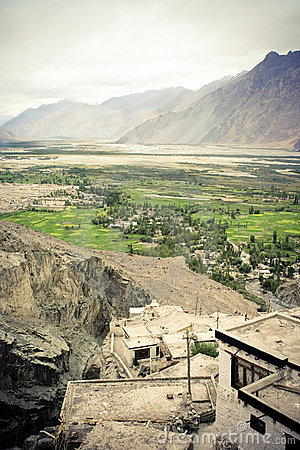 Himalaya, Nubra valley city.