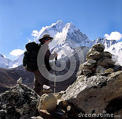 Free Himalaya Trekker Stock Photos - 254263