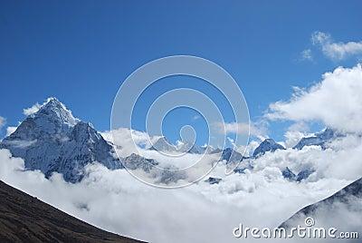 Himalayan Peaks & Clouds
