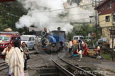 Himalayan Railway (The Darjeeling) Editorial Photography