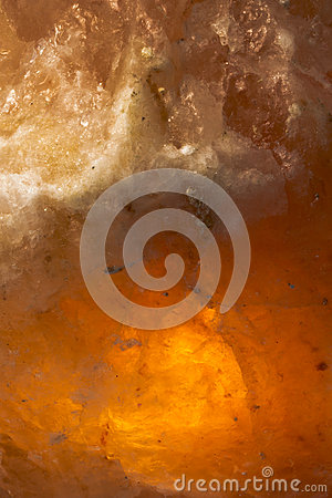 Himalayan salt with backlight