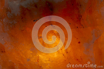 Himalayan salt with glow