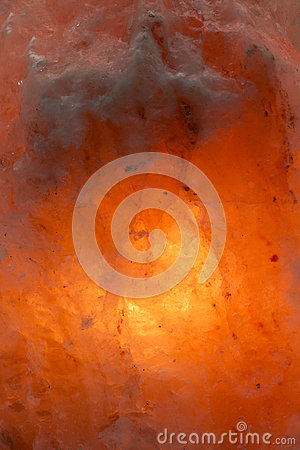 Himalayan salt with inner glow