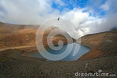 Himalayan scenic with lake