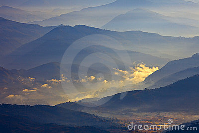 Himalayas scenery