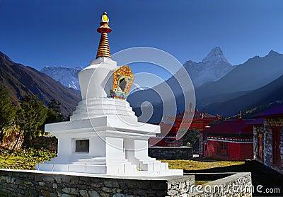 Himalayas, Tengboche Buddhist Monastery