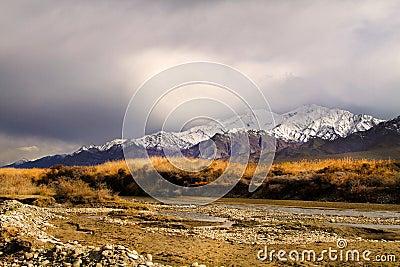 Himalyan range