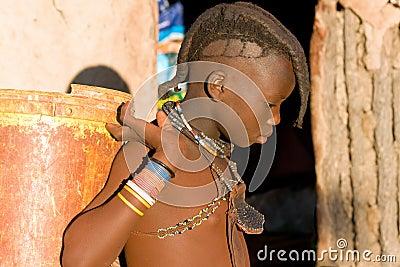 Himba boy Editorial Photography