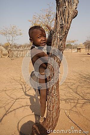 Himba child Editorial Photo