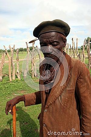 Himba Man Editorial Image