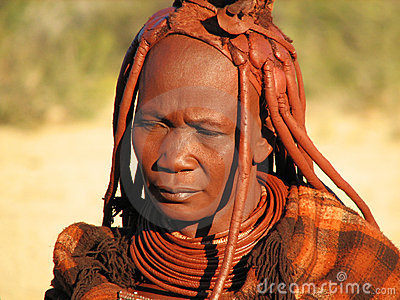 Himba woman Editorial Photo