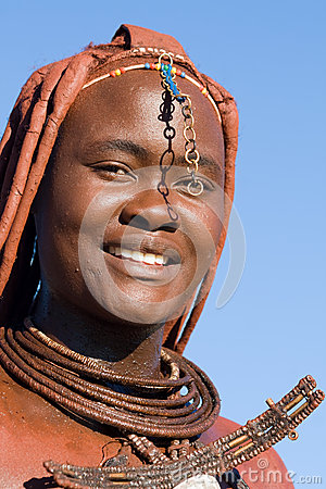 Himba woman portrait Editorial Photo