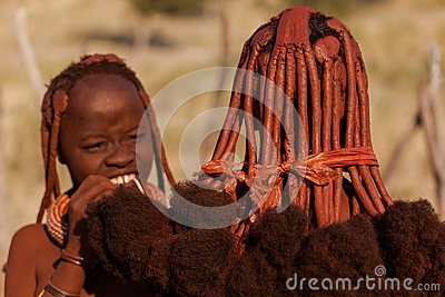 Himba women Editorial Stock Photo