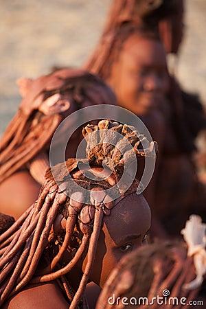 Himba women Editorial Photo