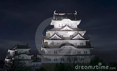 Himeji Castle Evening View
