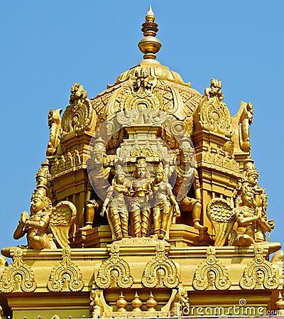 Free Hindu Balaji Temple Stock Image - 23517261