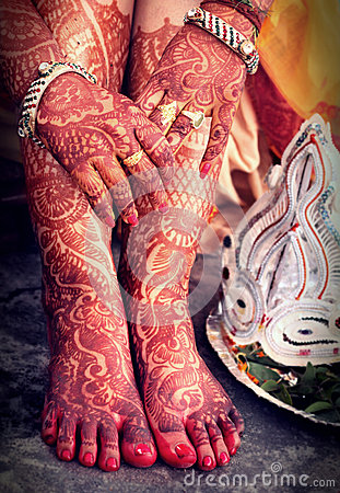 Hindu Bridal background