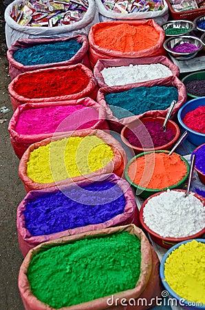 Hindu colors